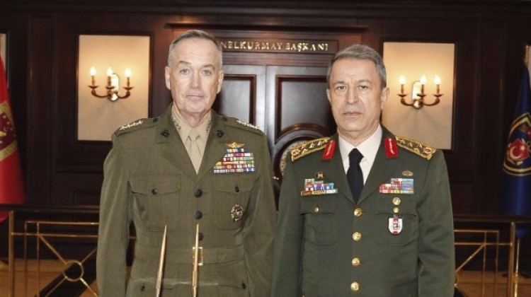 US military chief to meet Turkish counterpart