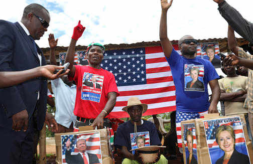 Obama's ancestral village reacts to Trump's US victory