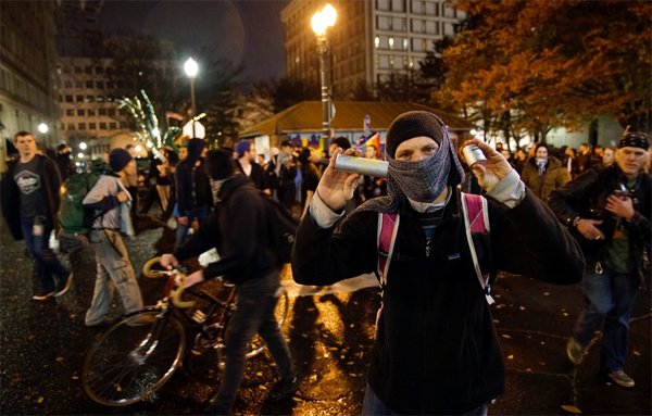Shooting at anti-Trump protest in Portland