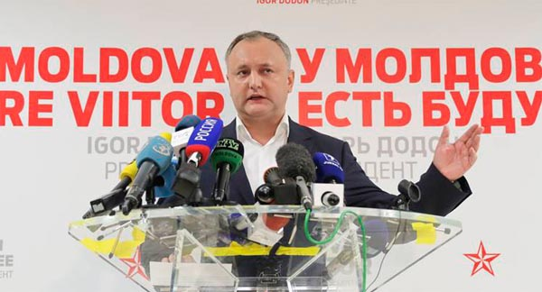 Moldovan leader vetoes plan to join NATO-led drill