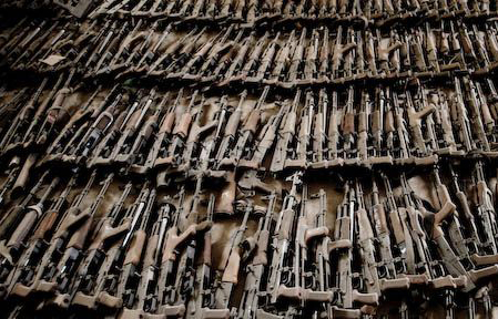 Ilegal Balkan weapons in west still a 'major problem'