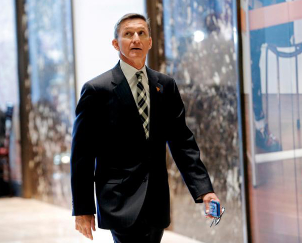 Trump offers national security adviser post to Flynn