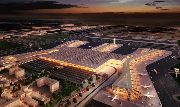 Istanbul's new airport wins design award in Berlin