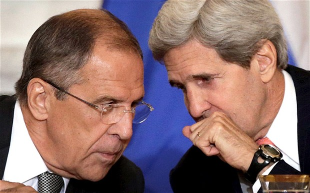 Kerry, Lavrov speak twice this week about Aleppo