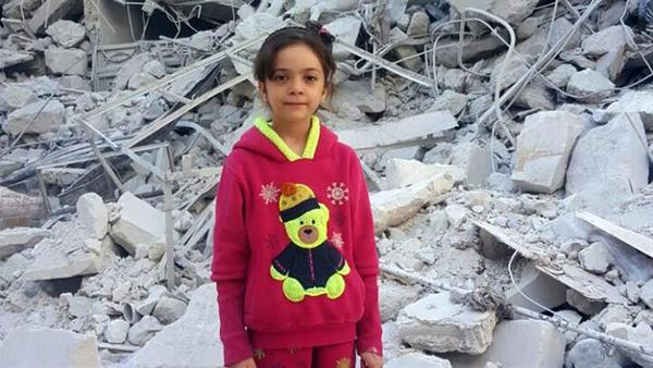 7 yr old Tweets 'last message' to the world from Aleppo