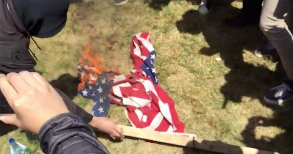 Trump: Loss of citizenship for US flag burners