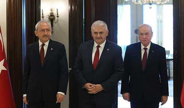 Turkish party leaders voice unity on fighting terror