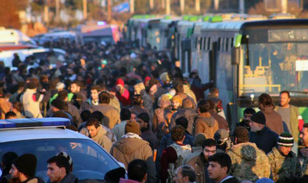 1,000 leave Aleppo in new evacuation