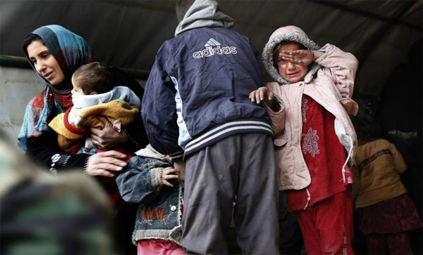350,000 children trapped in west Mosul