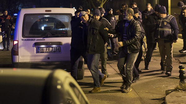 Man shoots into air in front of US embassy in Ankara
