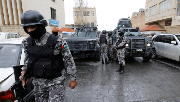 Jordan arrests 5 militants after raid
