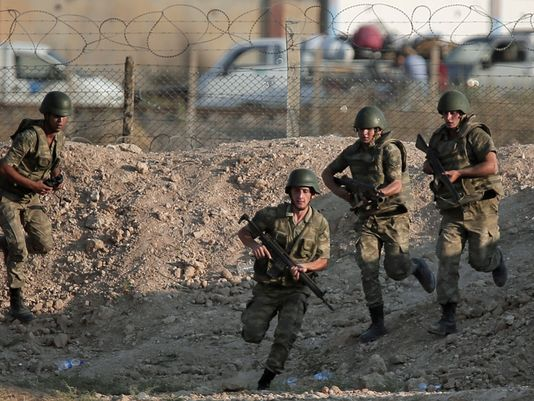 2 Turkish soldiers killed in northern Syria