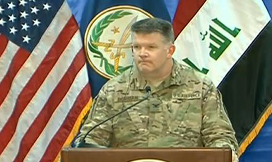 'Difficult to predict' when Mosul will fall: US officer