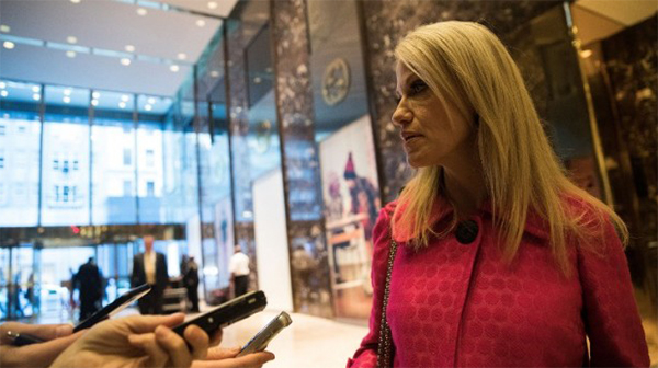 Trump aide Conway says US sanctions a hit at Trump