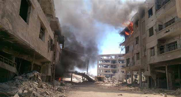 Regime shelling kills at least 20 in Damascus