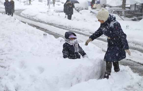 Hundreds remain stranded in snowstorm-hit Afghanistan