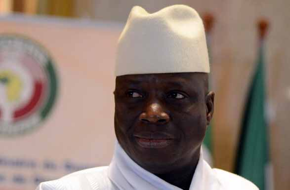 Armed Gambian soldier arrested in mosque as president prayed