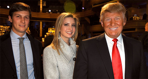 Trump appoints son-in-law to top White House post