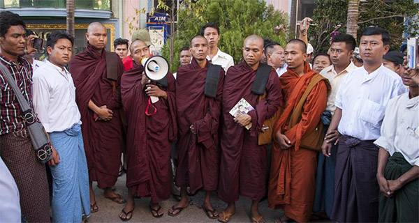 Buddhist NGO slams violence in Myanmar