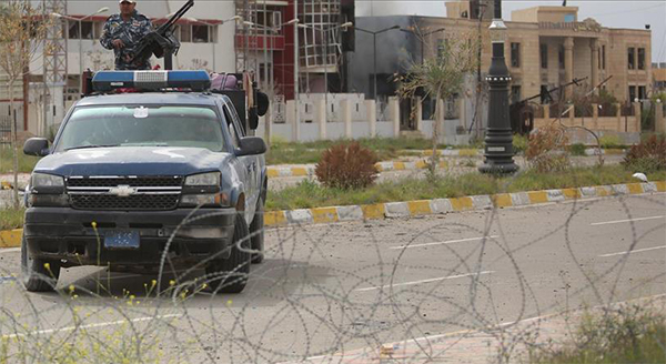 ISIL attack in Iraq's Tikrit leaves 9 policemen dead