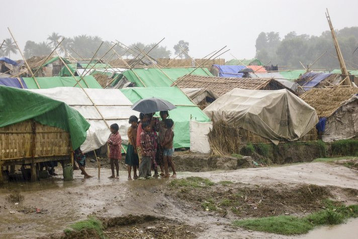 What really describes the case of Rohingya community in Myanmar?