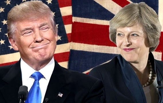 Trump and May renew 'most special' US-Britain bond