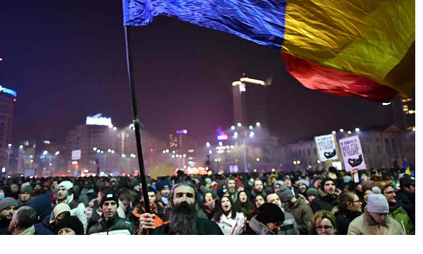 Romanian mass protests enter fifth day