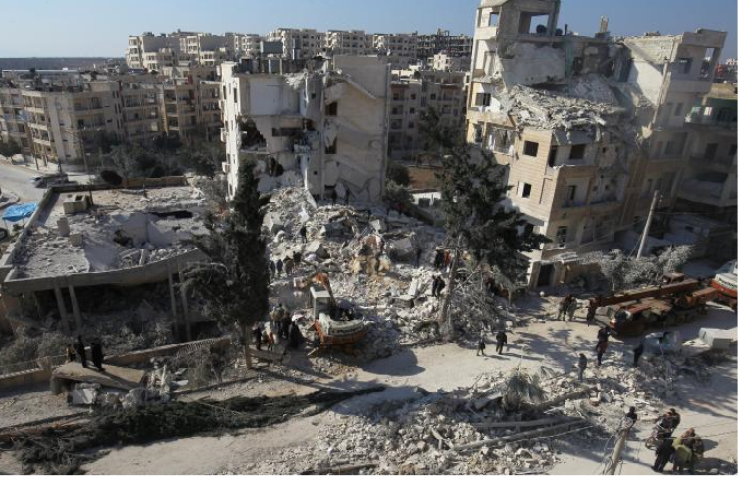Russian airstrikes kill 35 civilians in Syria's Idlib