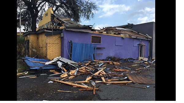 US: Injuries reported as tornado rips New Orleans