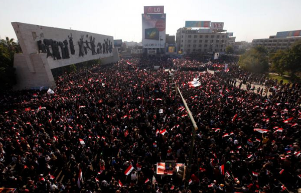 Several wounded as Iraq police clash with protesters