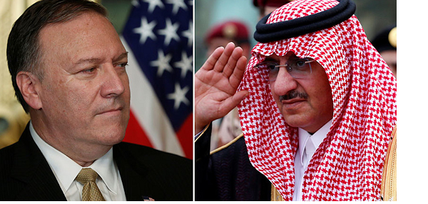 CIA director gives 'anti-terror' medal to Saudi royal!