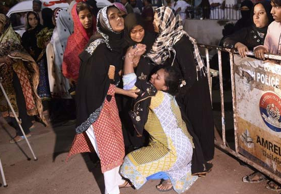 At least 70 killed in SW Pakistan shrine attack