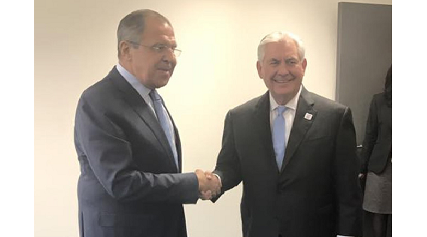 Top Russian, US diplomats hold first meeting in Germany
