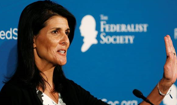 Nikki Haley: US committed to Europe alliances