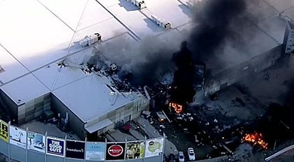 5 dead after small plane hits Australia shopping center