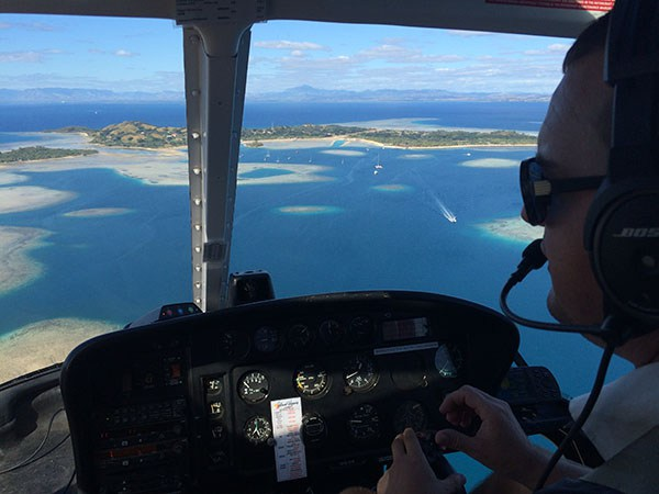 Chopper pilot finds two Pacific castaway boats