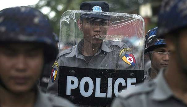 Myanmar police detain six in Rakhine bombing probe