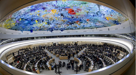 With Trump at helm, US takes seat at UN rights council
