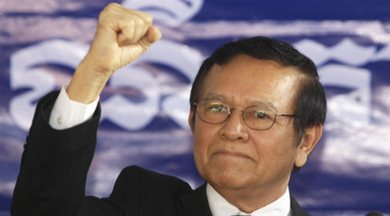 Cambodian opposition party makes Kem Sokha new leader