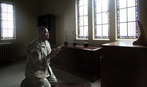 Muslim in charge of 14,000 US soldiers' spiritual needs