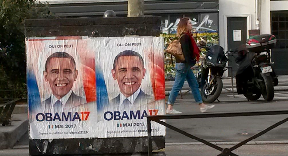Obama 2017? 50,000 French want him as president