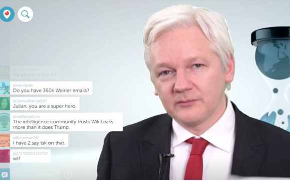 Wikileaks may have evidence CIA spied on US ciitizens