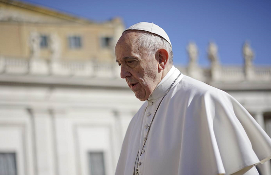 Pope Francis says may consider making married men priests