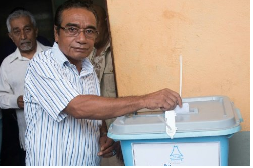 East Timor votes in presidential poll seen as sign of stability