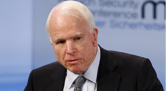 McCain warns of 'tough decisions' with Syrian Kurds