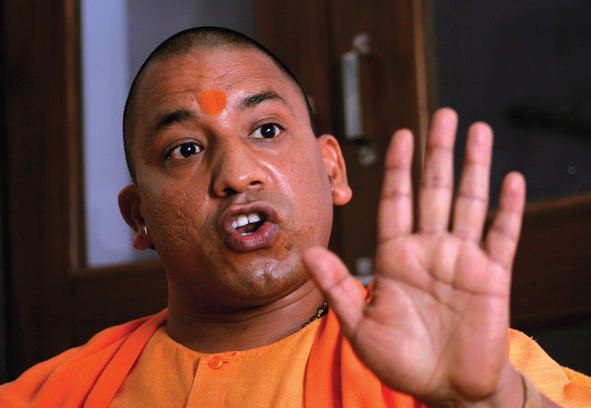 Leader of India's biggest state boosts Hindu right agenda