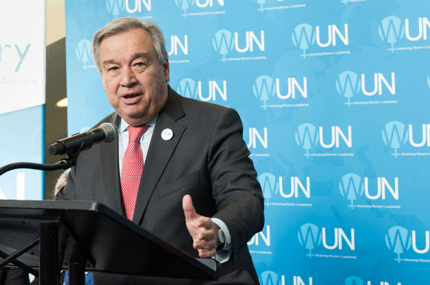 UN chief Guterres lands in Iraq to review aid efforts