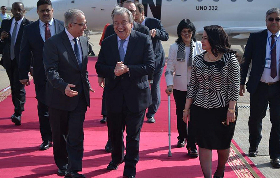 UN chief arrives in Baghdad to meet with Iraq officials