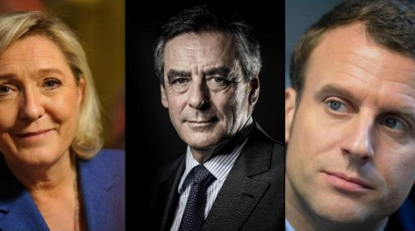 What happened today in France's presidential election
