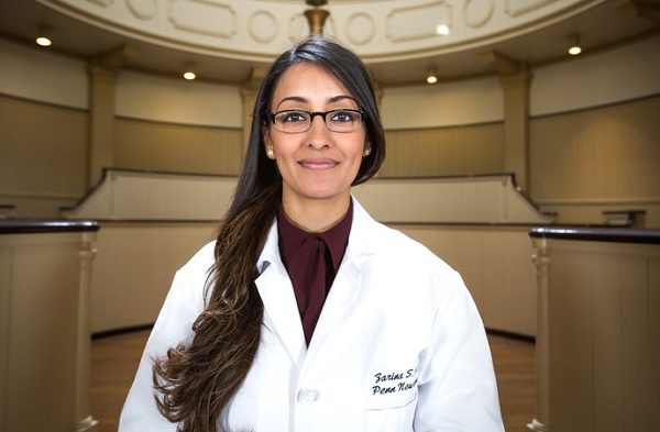 Pennsylvania Hospital's first female Muslim neurosurgeon